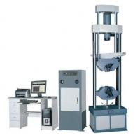 China Computer Control Electro-Hydraulic Servo Universal Testing Machine Capacity  50KN  for tension, compression, bending and wholesale