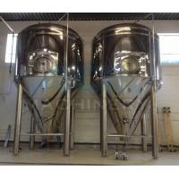 China 500 gallon stainless steel Wine/Beer fermentation tank fermenter Stainless Steel wine fermentation tank wholesale