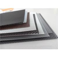 China High Intensity Stainless Steel Insect Screen , Black King Kong Window Screen Mesh wholesale