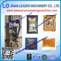 China high quality automatic peanut butter packaging machine for Peanuts, sesame, nut butters wholesale