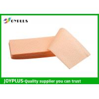 China Yellow Green Color Non Woven Cloth , Window Cleaning Cloths Extra Absorbent wholesale