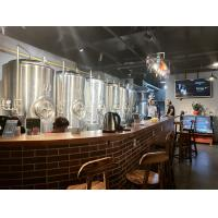 China 500L beer brewing equipment for brewpub , or restaurant , stainless steel material wholesale