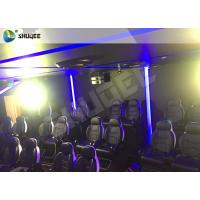 China 7D Cinema Theatre With Laser Games And Live Action Movies For Science And Horror wholesale