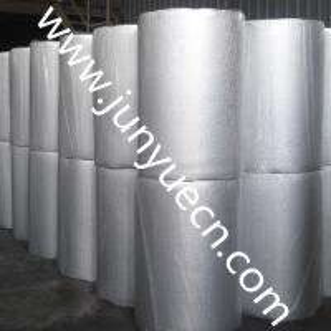 China Heat resistant silver laminated thermal metallic aluminum foil epe /xpe foam insulation blocks ALU foil wholesale