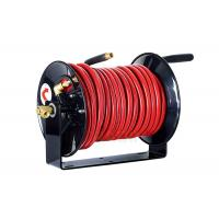 China Large Air And Water Hose Reel With Spring Tension Brake / Wall Mounting Hose Reel wholesale