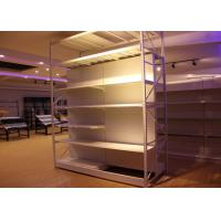 Buy cheap Gondola supermarket shelving for retail shop from wholesalers