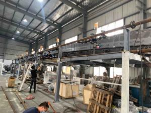 China 1300mm 1600mm Width PE Protective Film Coating Machine wholesale