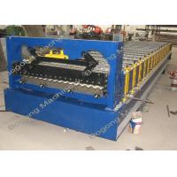 China Metal Roofing Sheet Corrugated Roofing Sheet Roll Forming Machine wholesale