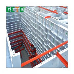 China Hot Sale Construction Building Materials Aluminium Alloy Adjustable Column Formwork System Malaysia/aluminum panel slab wholesale