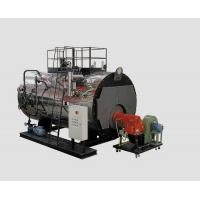 China 2 Tons PLC Light / heavy Oil fired Steam Boilers 0.7 Mpa For Hot Press wholesale