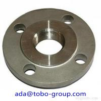 "China 4"" ASTM SA/A105N Forged Steel Flanges Galvanizing Surface For Oil System wholesale"