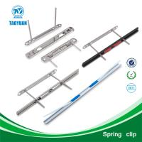 China Alibaba china supplier metal spring clip / flat spring steel / snack clips on sale