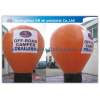 China 6m Inflatable Large Helium Balloons For Advertising On Floor CE / UL Certificate wholesale