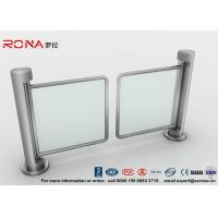 China 304 Stainless Steel Swing Barrier Gate Unidirectional 500mm Passage Width wholesale