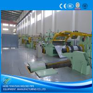 China 25 Strips Slitting Line Machine , PLC Control Steel Sheet Slitting Machine wholesale
