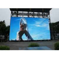 China SMD IP65 Outdoor Full Color Led Display Viedo Die Casting Aluminum Cabinet wholesale