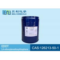 China 99.9% purity Electronic Grade Chemicals EDOT / EDT CAS 126213-50-1  near colorless to pale yellow liquid wholesale