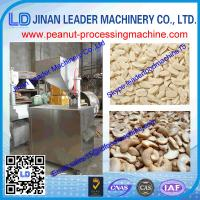 China 50-300kg/h Nuts slice machine for used in peanut, almond, cashew nut, walnut kernel wholesale