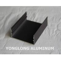 China Powder Coated Aluminium Profile For Curtain Wall Frame Champangn , Bronze wholesale