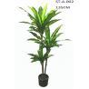 China SGS / ISO Artificial Dragon Tree 135CM 175CM Artificial Dracaena Tree Heads wholesale