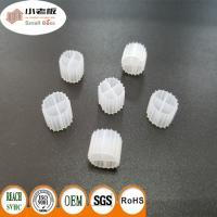 Quality HDPE Small Size K1 Bio Filter Media 900m2 / M3 Suface Area 11*7mm Size for sale
