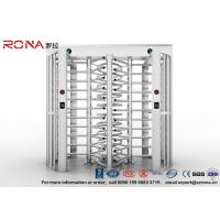 China Robust Full Height Turnstile Access Control Barrier Gate Anti Fingerprints Surface wholesale