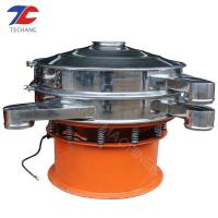 China Industrial High Efficiency Round Vibrating Screen Food Grade SS 304 Made on sale