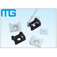 China white /balck Saddle Type tie mounts with material of PA66, CE approval ,1000PCS /BAG Cable Accessories wholesale