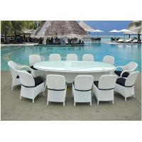 China Outdoor furniture rattan dinning set --8155 wholesale