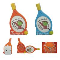 China Tennis racket desk alarm clock with photo frame for kids wholesale