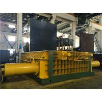 Buy cheap Double Main Pressure Cylinder Hydraulic Scrap Baler Machine Round Packing Block from wholesalers