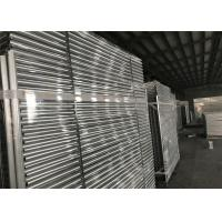 China Hot dipped Galvanized Temporary Fence Panels 2.1mx2.4m customized mesh 60mm*150mm wholesale