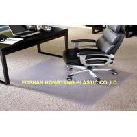 China Residential Floor Protection office chair mat for carpet Eco - friendly wholesale