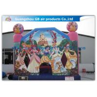 China Dinis Princess Bounce House Childrens Bouncy Castle PVC Material For Kindergarten wholesale