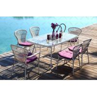 China Outdoor furniture wicker dinning table & chair-15003 wholesale