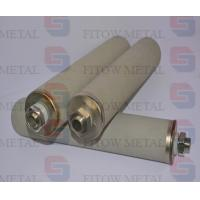 China Sintered stainless steel porous metal filter tube wholesale