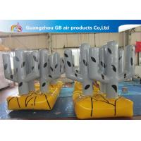 China Custom Made Strong PVC Tarpaulin Inflatable Bunker Cactus Tree Airtight For Train wholesale