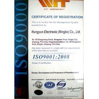 Ningbo Anyo Import & Export Co., Ltd. Certifications