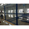 China Blue Welded Metal Mesh Fencing Elegant Style Workshops / Warehouse Isolation Fence wholesale