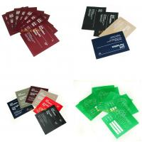 Quality Square Shaped Smooth Garment Care Labels Screen Printing / Rotary Printing for sale