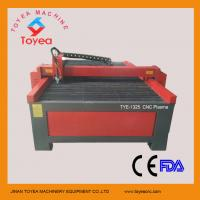 China CE Approved 1300 x 2500mm CNC Plasma Cutting machine for metal TYE-1325 on sale
