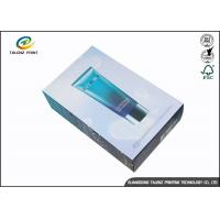 Buy cheap Personal Designed Cosmetic Delivery Box , Makeup Packaging Boxes Matt Lamination from wholesalers