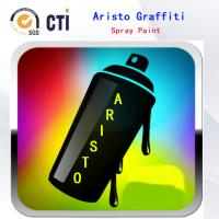 China Solvent Based / Water Based Graffiti Spray Paint With Fat / Medium / Skinny Nozzle wholesale