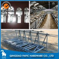 Buy cheap Automatic Releasing Locking Feed Barriers / Dairy Cow Headlock Device from wholesalers