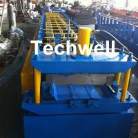 China PLC Control Clip Lock Cold Roll Forming Machine for 0.3-0.8mm ThicknesS Tapered Bemo Sheets With 5.5 KW Main Power wholesale