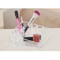 China Desktop Clear Counter Display Stands Tray Exquisite For Cosmetics wholesale