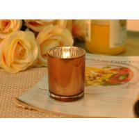China Small Candle Jars Decorative Votive Candle Holders Wedding Decoration wholesale