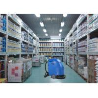 China Blue Semi Automatic Compact Floor Scrubber Machine For Drugstore / Store House wholesale