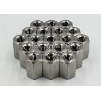 China Light Weight Titanium Hex Nuts For Chemical Industry , Military Equipment wholesale