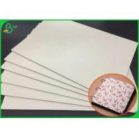 China Moisture Proof Featured 1.0MM Grey Chipboard For Hardcover Notebook wholesale